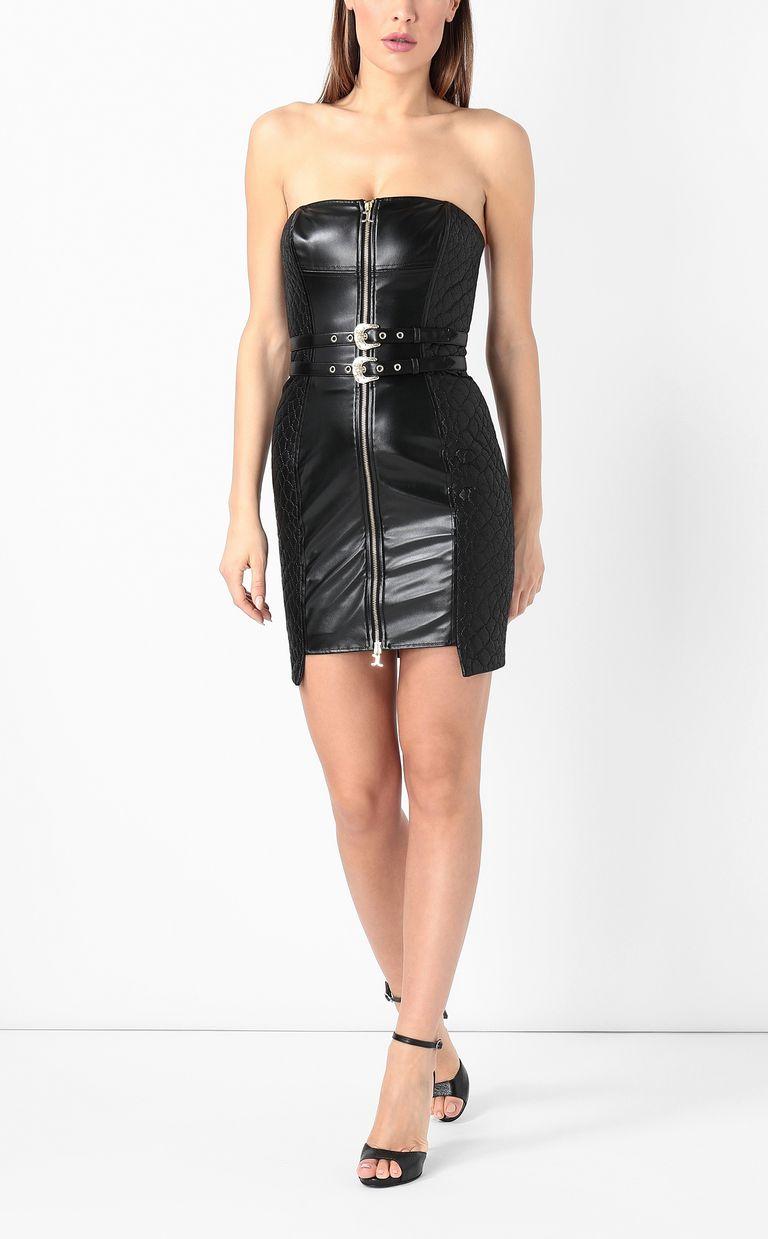 JUST CAVALLI Sheath dress in faux leather Dress Woman d