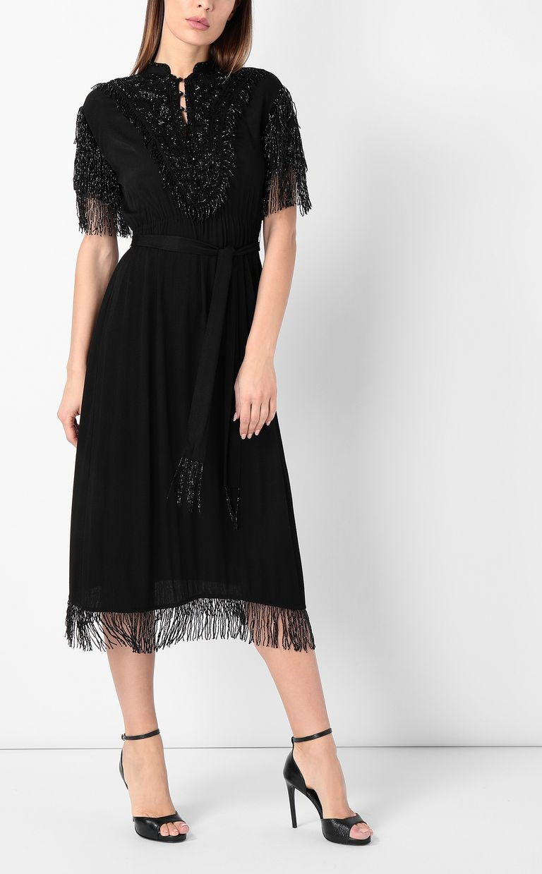 JUST CAVALLI Dress with diamanté embroidery Dress Woman d