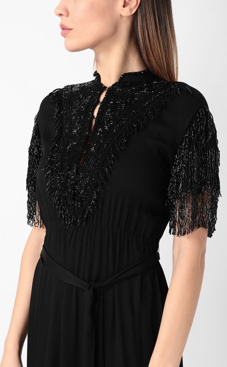 JUST CAVALLI Dress with diamanté embroidery Dress Woman e