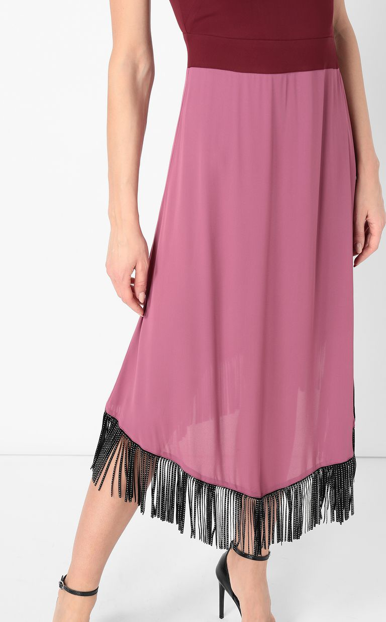 JUST CAVALLI Dress with fringing Dress Woman e