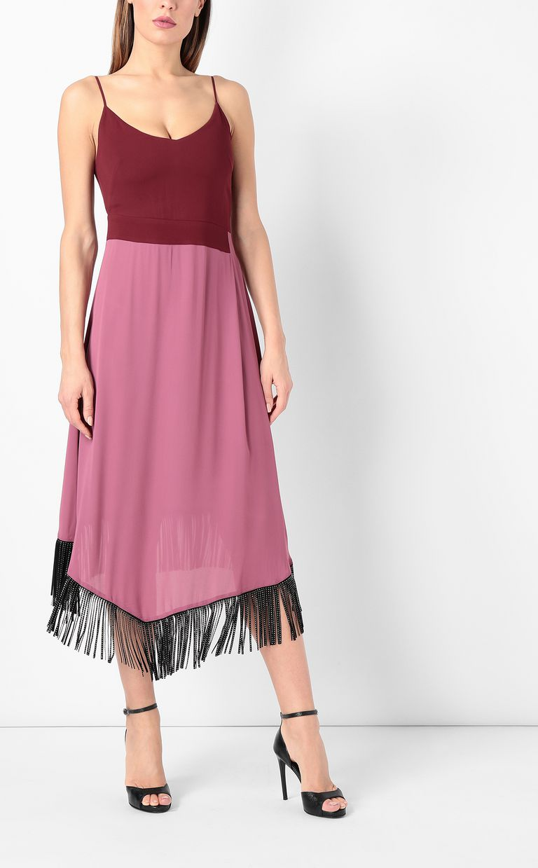 JUST CAVALLI Dress with fringing Dress Woman r