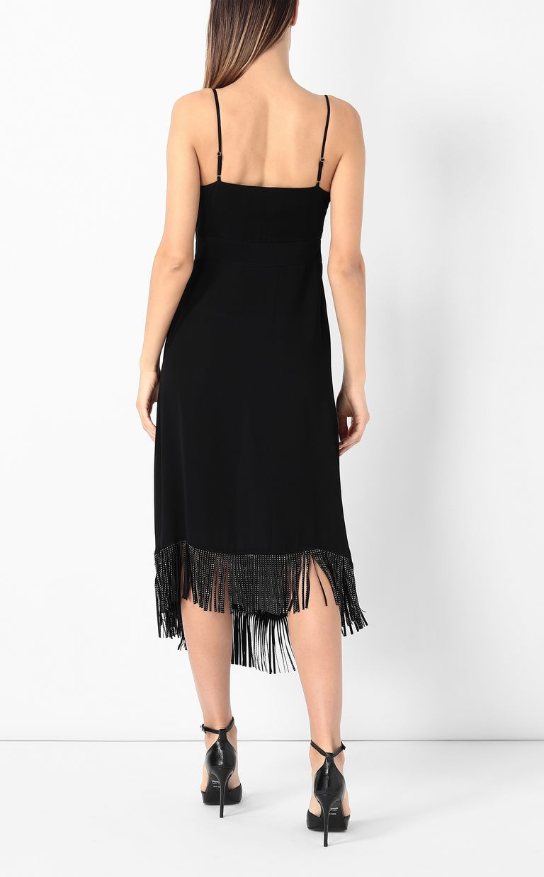 JUST CAVALLI Dress with fringing Dress Woman a