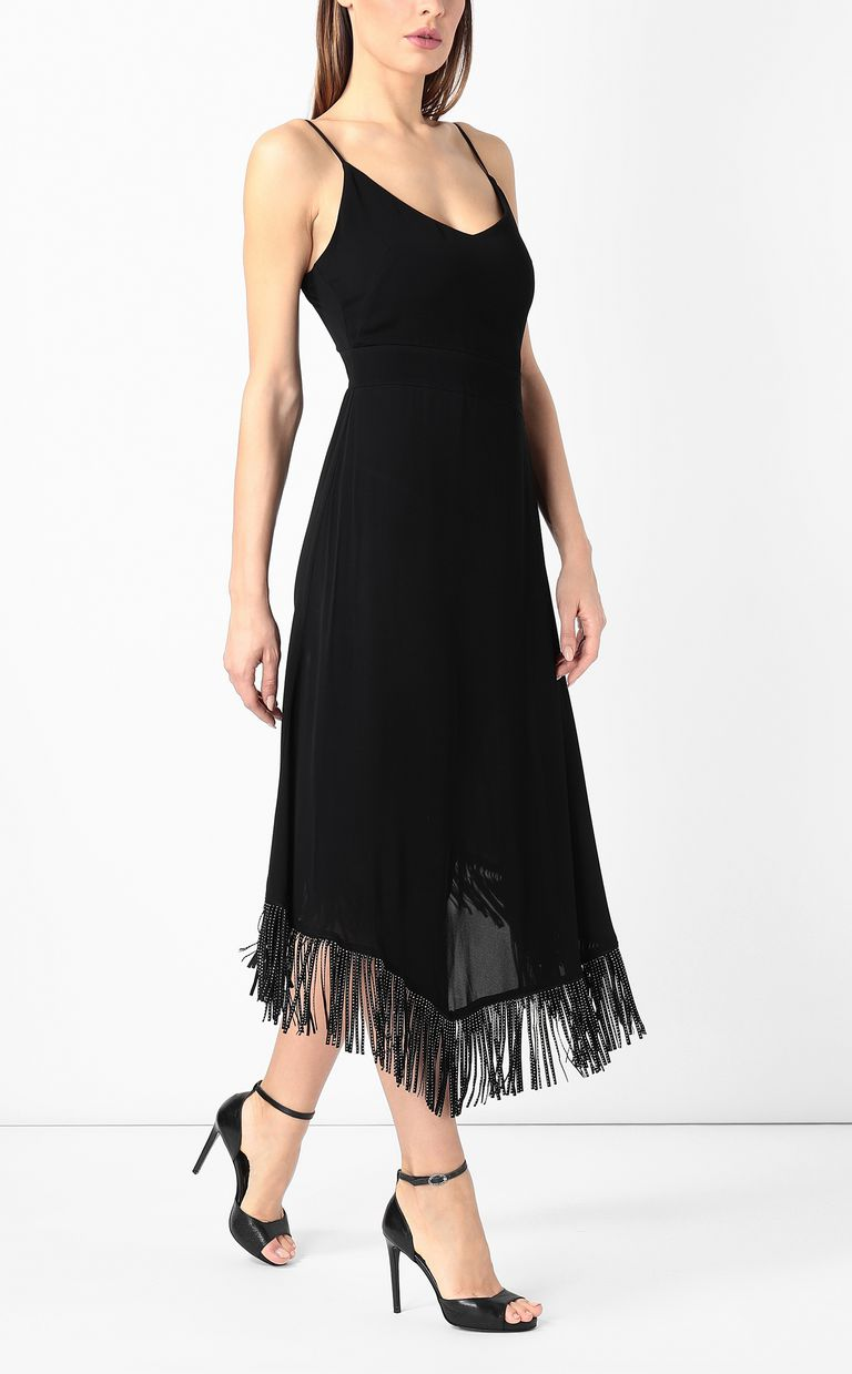 JUST CAVALLI Dress with fringing Dress Woman d