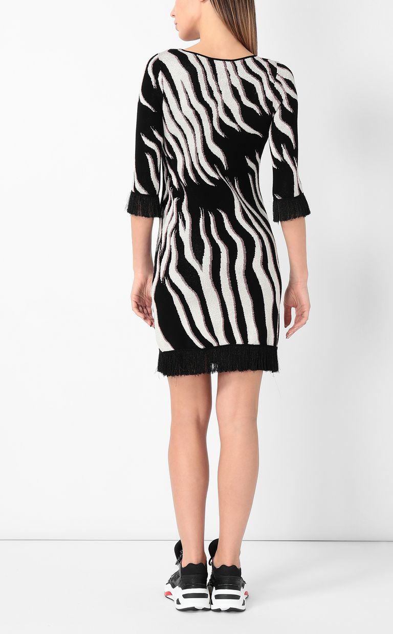 "JUST CAVALLI ""Glowing Zebra"" print dress Dress Woman a"