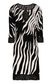 "JUST CAVALLI ""Glowing Zebra"" print dress Dress Woman f"