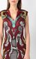 "JUST CAVALLI Dress with ""Rebel Cow"" print Dress Woman e"
