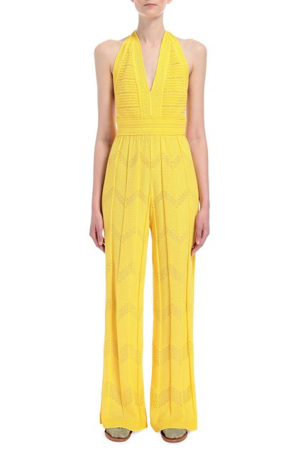M MISSONI Jumpsuit Yellow Woman - Back