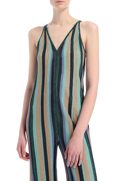 M MISSONI Jumpsuit Light green Woman - Front