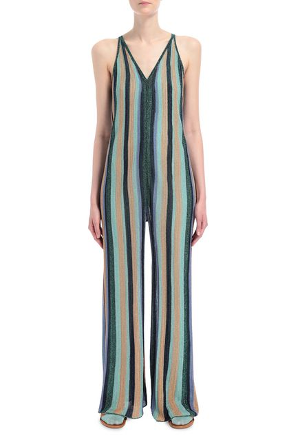 M MISSONI Jumpsuit Light green Woman - Back
