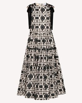 REDValentino Printed dress Woman RR0VAC15PZL 0NO a