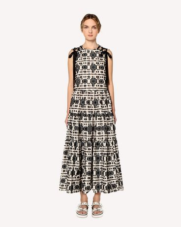 REDValentino RR0VAD45FHK 0NO Long and midi dresses Woman f