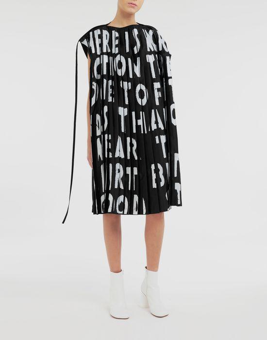 MM6 MAISON MARGIELA Robe plissée Charity AIDS Robe courte [*** pickupInStoreShipping_info ***] d