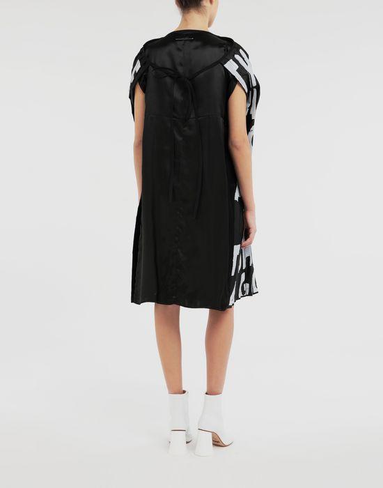MM6 MAISON MARGIELA Robe plissée Charity AIDS Robe courte [*** pickupInStoreShipping_info ***] e