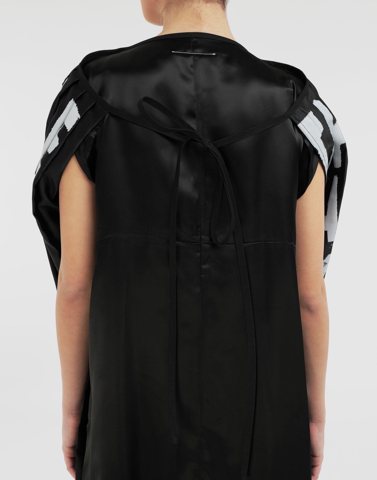 MM6 MAISON MARGIELA AIDS Charity pleated dress Short dress Woman b