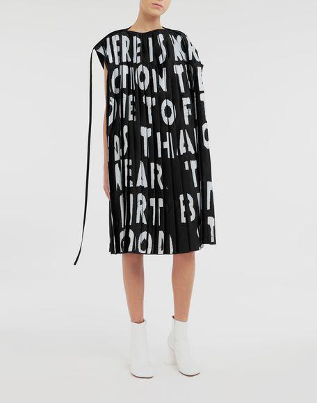 MM6 MAISON MARGIELA AIDS Charity pleated dress Short dress Woman d