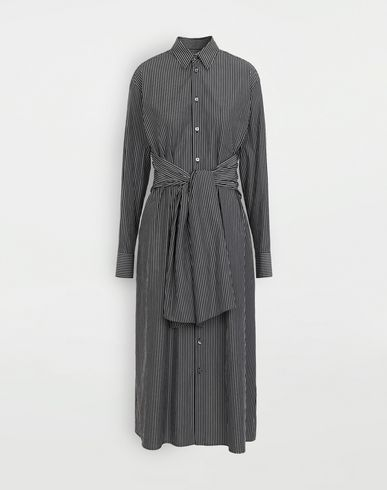 DRESSES Multi-wear shirt-dress Black