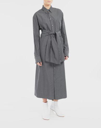 ワンピース・ドレス マルチウェア シャツドレス ブラック