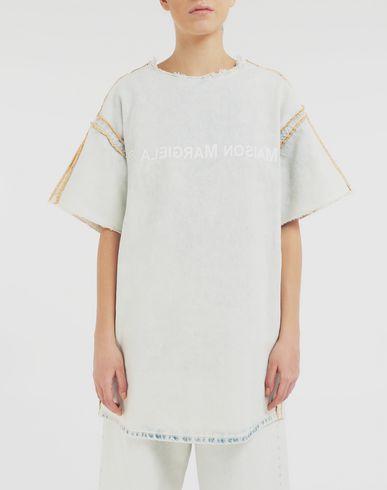 ROBES Robe t-shirt logotypée Bleu