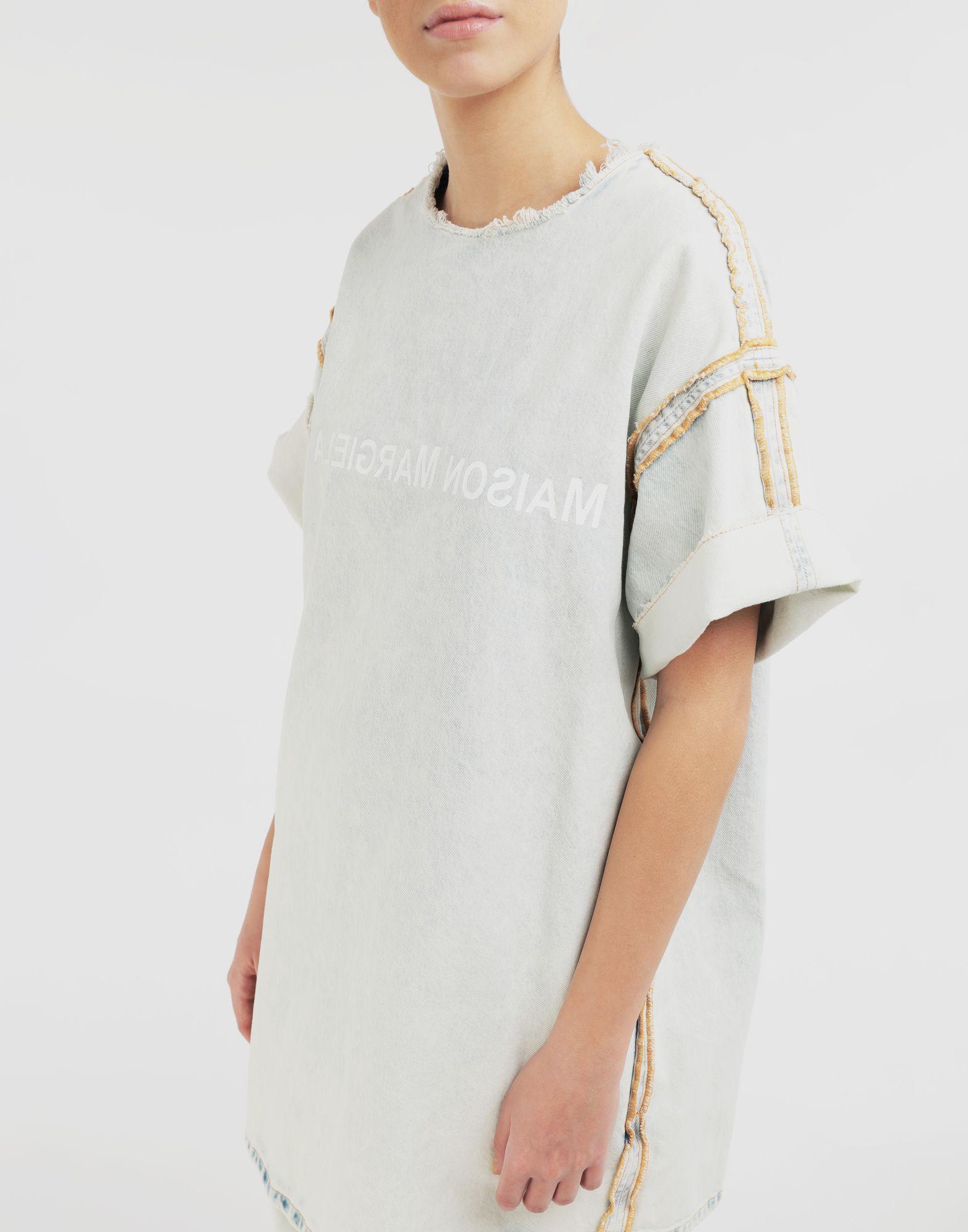 MM6 MAISON MARGIELA Abito T-shirt con logo Vestito Donna a