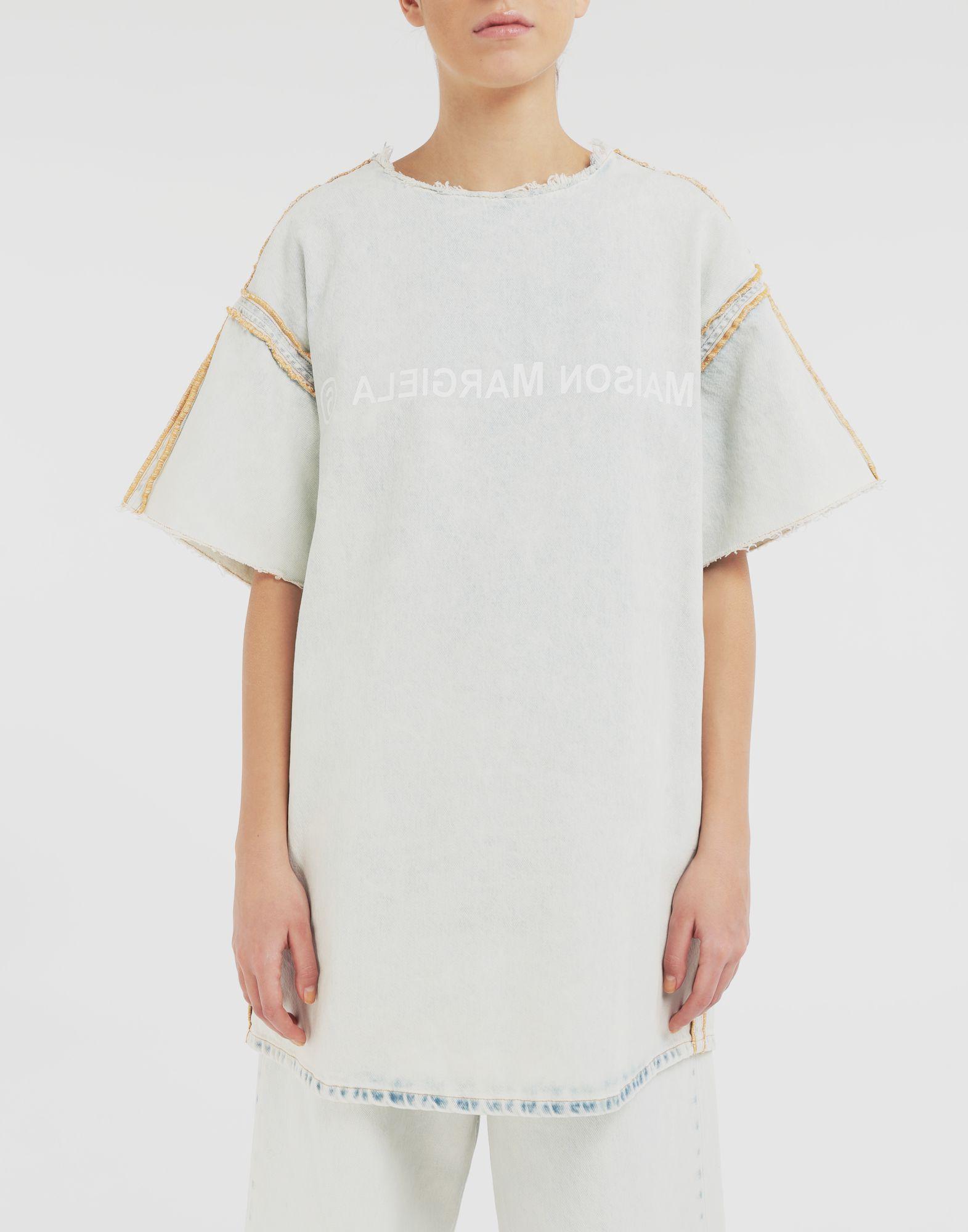 MM6 MAISON MARGIELA Abito T-shirt con logo Vestito Donna r