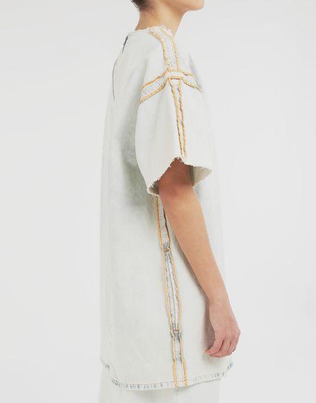 MM6 MAISON MARGIELA Abito T-shirt con logo Vestito Donna b