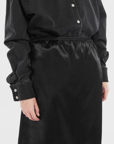ROBES Robe-chemisier Spliced Noir