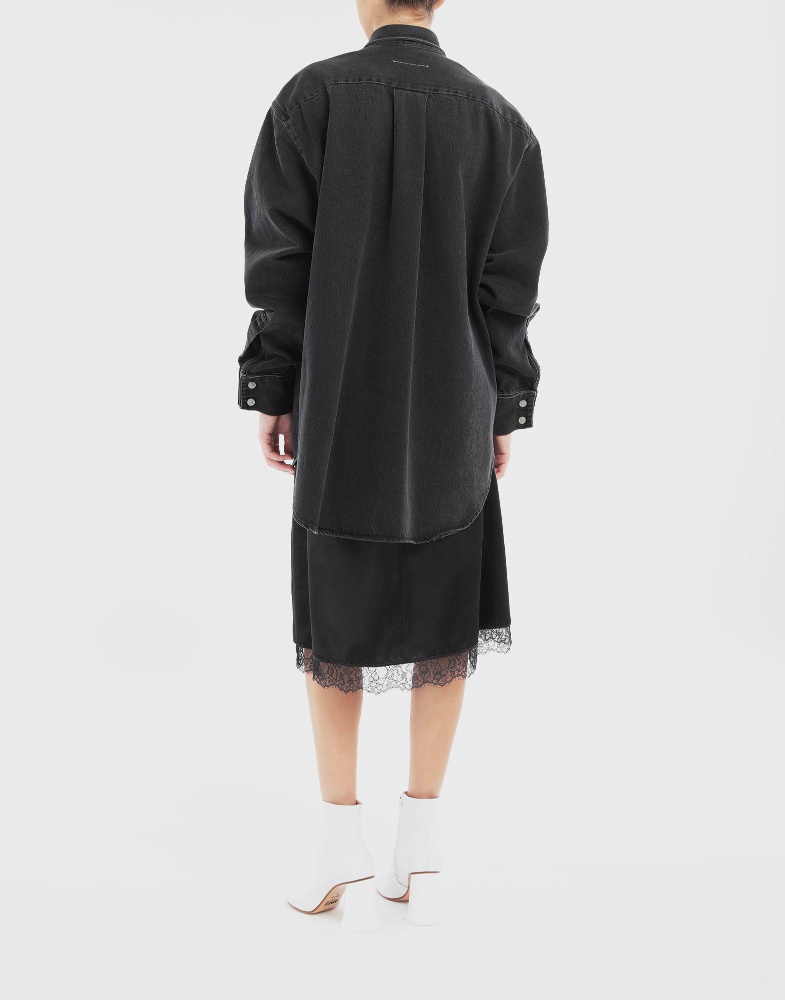 MM6 MAISON MARGIELA Multi-wear spliced shirt-dress Dress Woman e