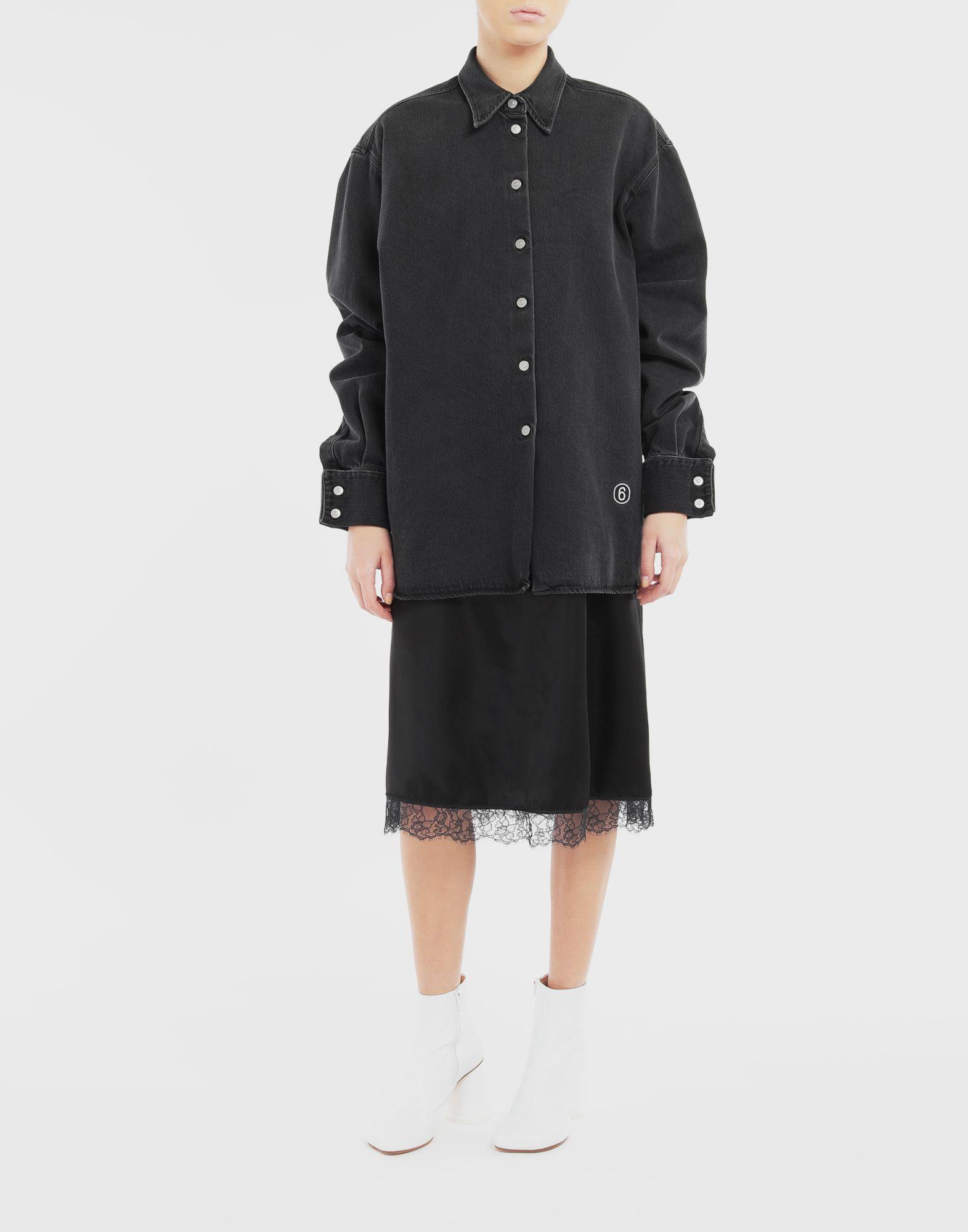 MM6 MAISON MARGIELA Multi-wear spliced shirt-dress Dress Woman r