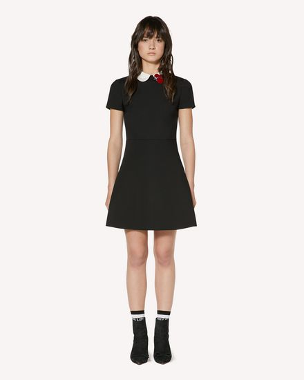 Cady Tech dress with heart patch detail