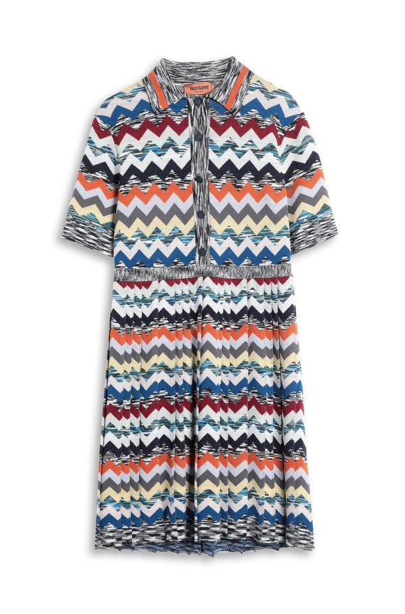 MISSONI Dress Blue Woman