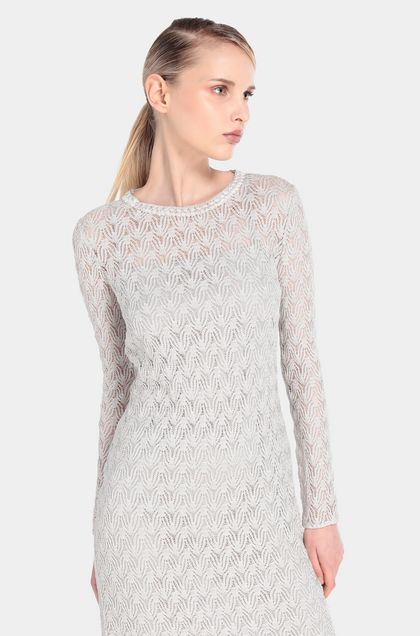 MISSONI Dress Light grey Woman - Front