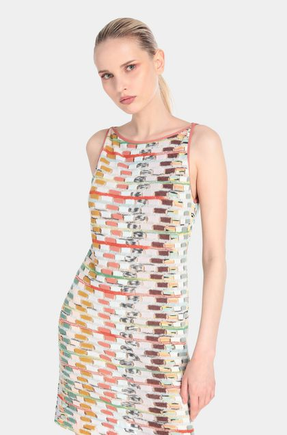 MISSONI Dress Light green Woman - Front