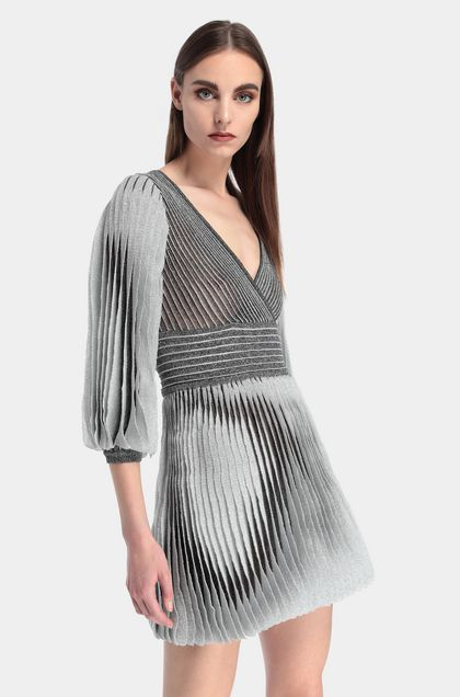 MISSONI Dress Grey Woman - Front