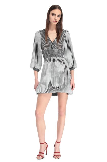 MISSONI Dress Grey Woman - Back