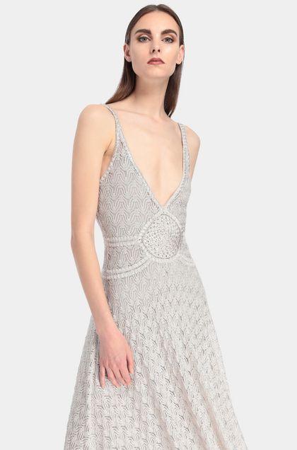 MISSONI Платье Светло-серый Для Женщин - Передняя сторона