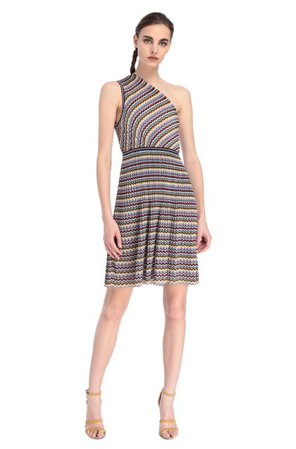 MISSONI Dress Blue Woman - Back