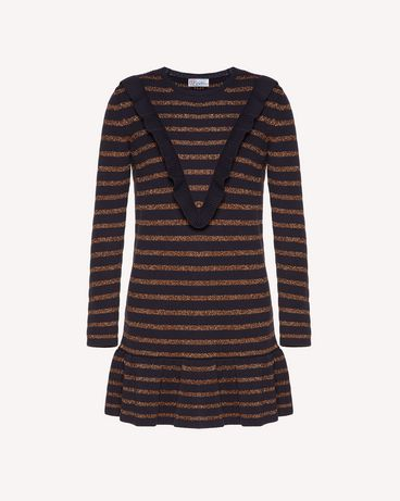 REDValentino SR3KDA534GJ JZM Knit Dress Woman a