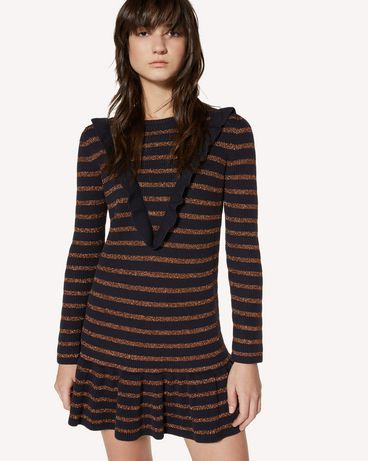 REDValentino SR3KDA534GJ JZM Knit Dress Woman e