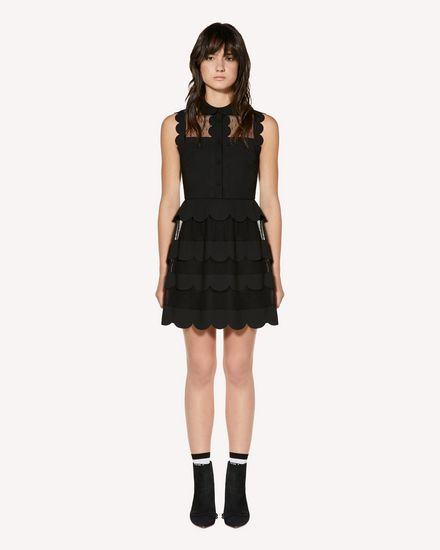 REDValentino Short dress Woman SR3VA3E52MG 0NO f