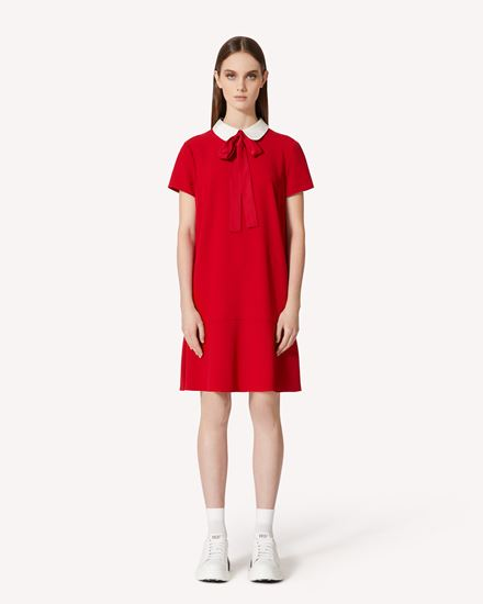 REDValentino Short dress Woman SR3VAF054AY FW4 f