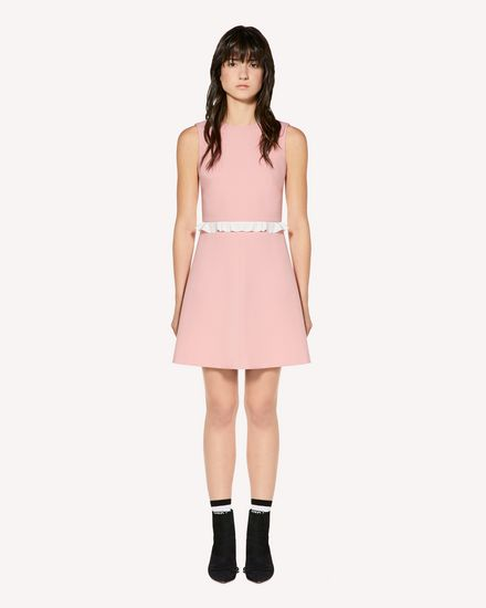 REDValentino Short dress Woman SR3VAH103FT ISM f