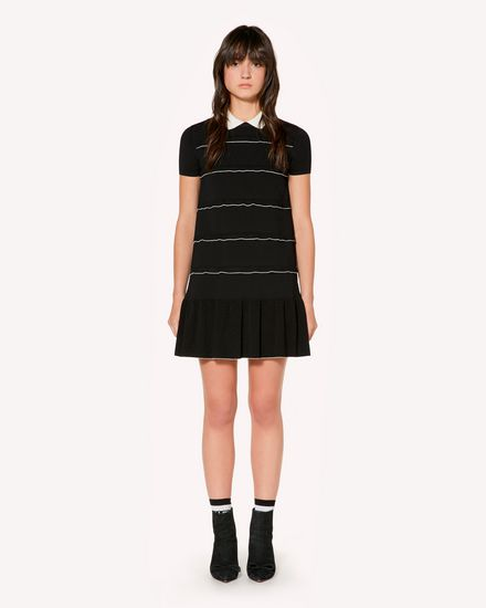 REDValentino Knit Dress Woman SR3KDA814GF 0MG f