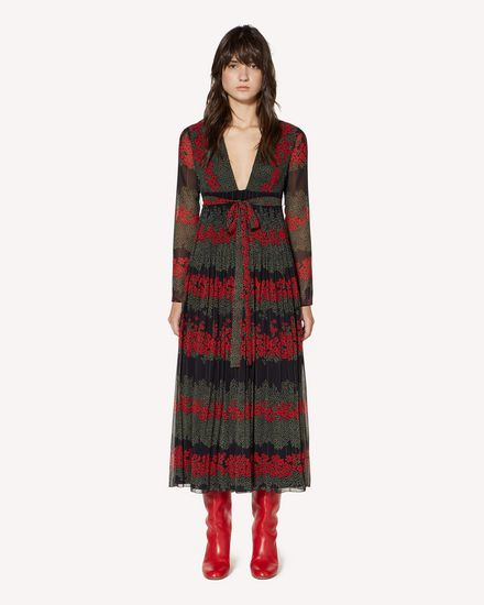 REDValentino Long and midi dresses Woman SR3VAF704A0 0NO f