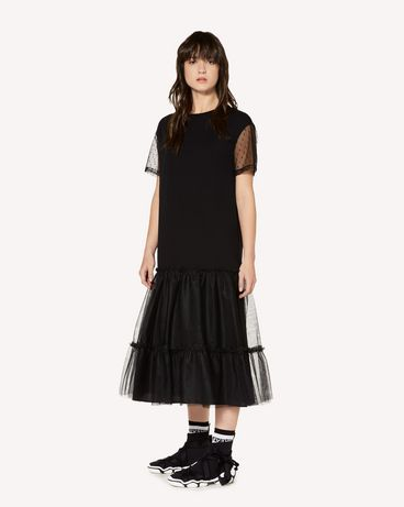 REDValentino SR3MJ01U4EV 0NO Long dress Woman d
