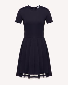 REDValentino Knit Dress Woman SR3KDA814GF 0MG a