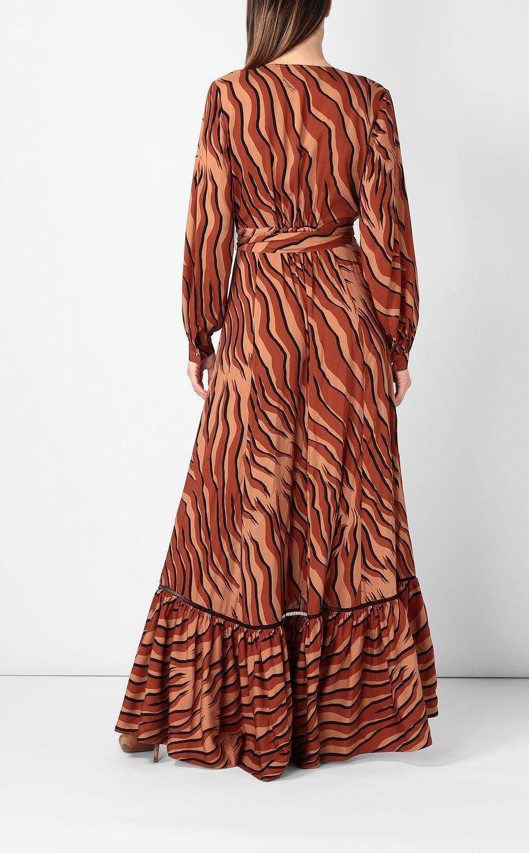 JUST CAVALLI Zebra-stripe-print dress Dress Woman a
