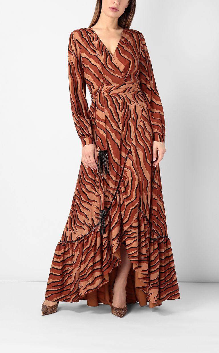 JUST CAVALLI Zebra-stripe-print dress Dress Woman d