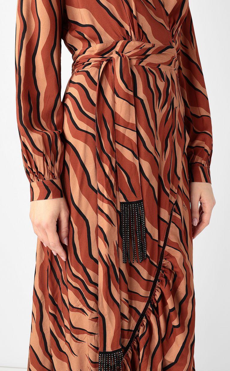 JUST CAVALLI Zebra-stripe-print dress Dress Woman e