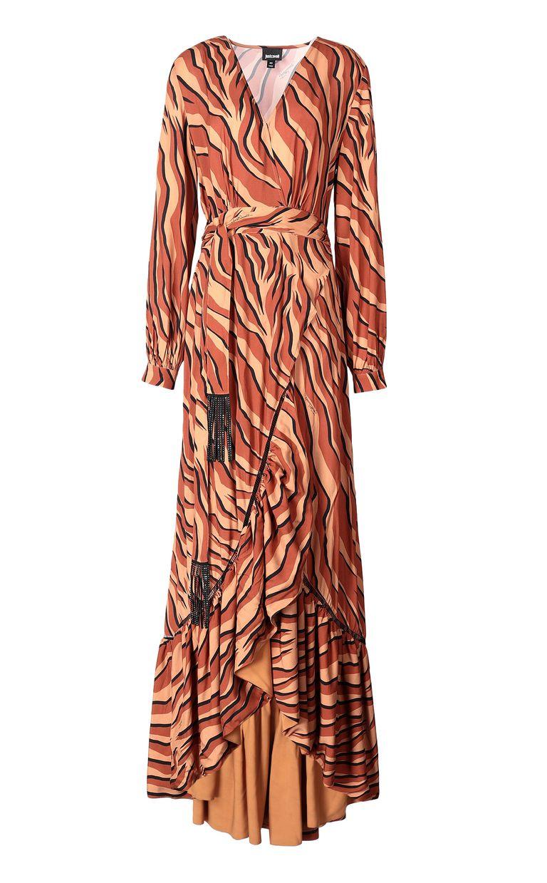 JUST CAVALLI Zebra-stripe-print dress Dress Woman f