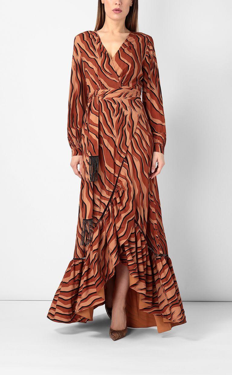 JUST CAVALLI Zebra-stripe-print dress Dress Woman r